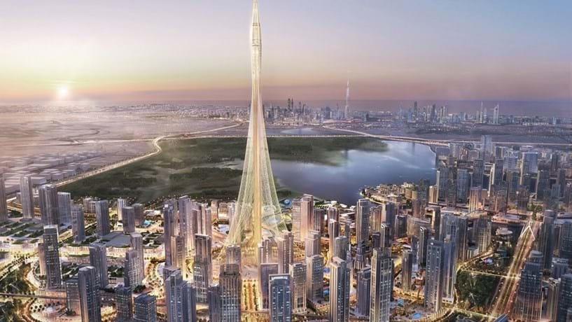 Dubai reconquista o céu com nova torre