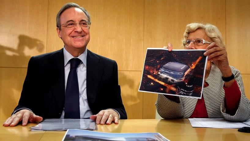 Real e câmara de Madrid chegam a acordo sobre novo Bernabéu