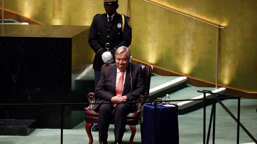 António Guterres: Gostaria de ver português como língua oficial da ONU