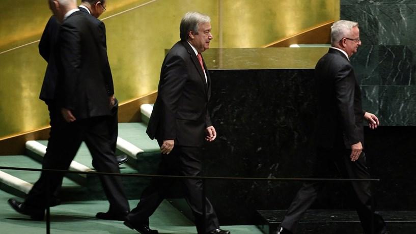 Português entre os conselheiros de Guterres na ONU