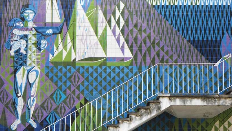 O toque das mulheres nos edifícios de Lisboa