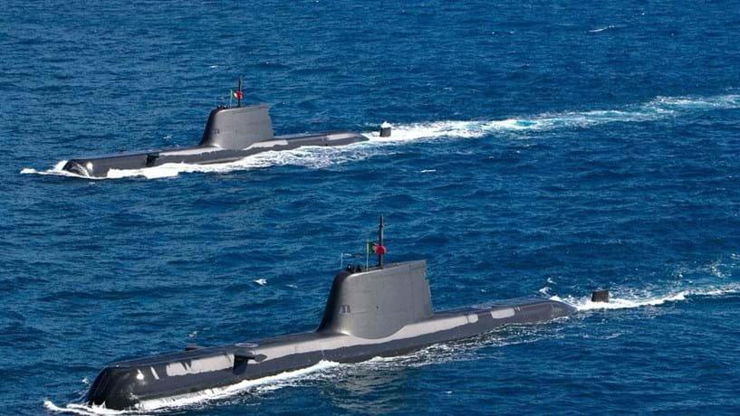Revisão dos submarinos de 48 milhões vai ser feita pela construtora e Arsenal do Alfeite