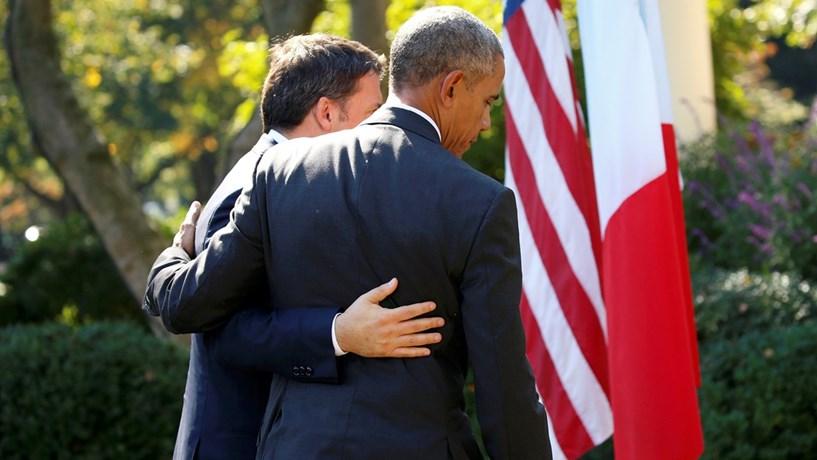 Comissão pode devolver OE a Renzi, Obama dá-lhe a mão