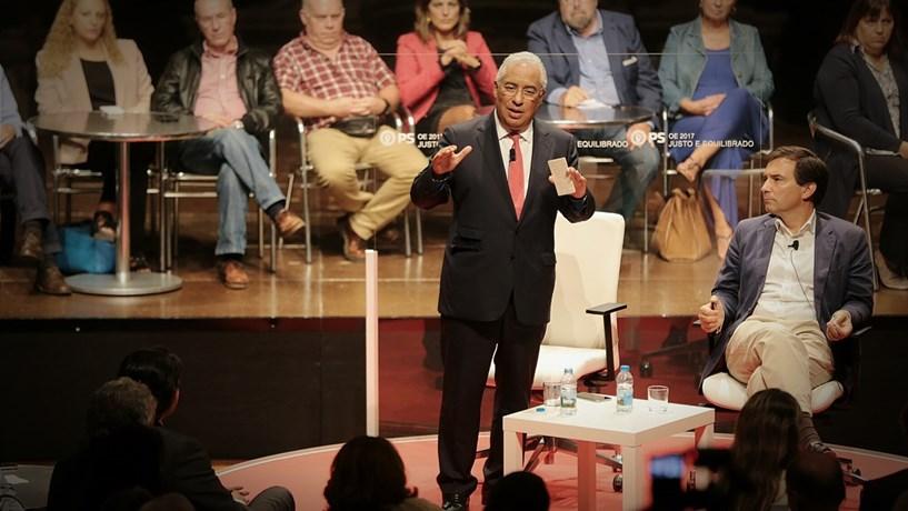 """Costa justifica aumentos de pensões até 630 euros com """"situação de justiça"""""""