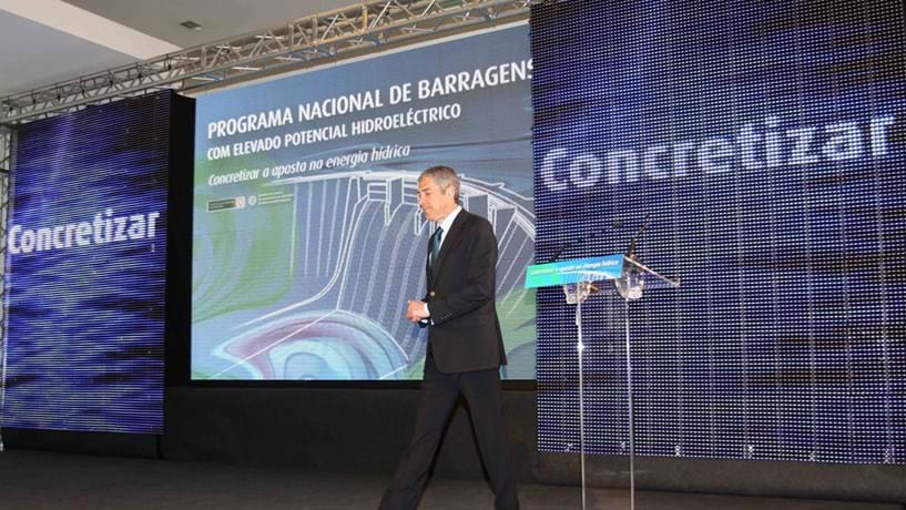 Iberdrola dá mais um passo nas barragens do plano Sócrates