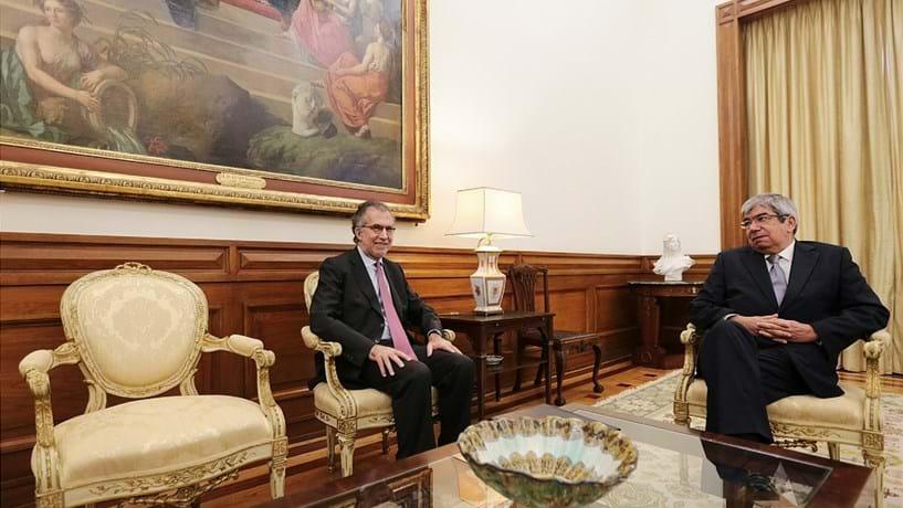 António Domingues e Ferro Rodrigues reunidos durante 20 minutos
