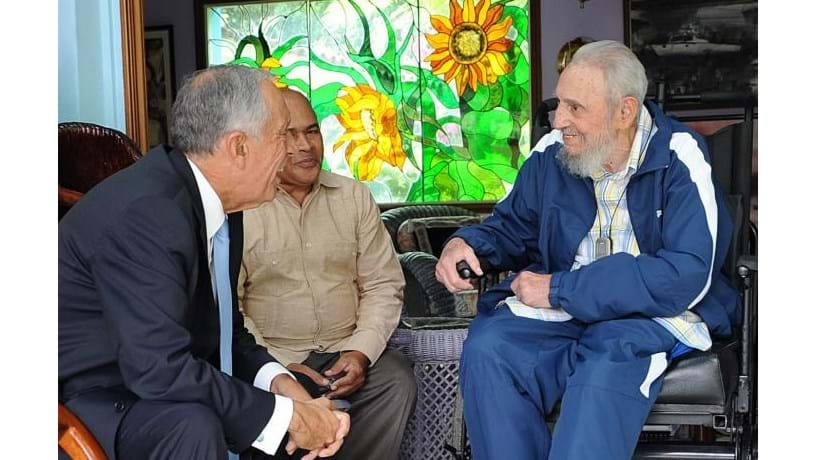 Fidel Castro agradece a Marcelo oposição de Portugal ao embargo a Cuba