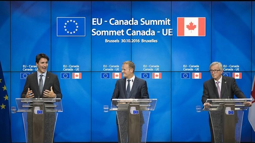 Assinado acordo entre a UE e o Canadá. Faltam os parlamentos