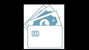Cartões de débito pagos a peso de ouro