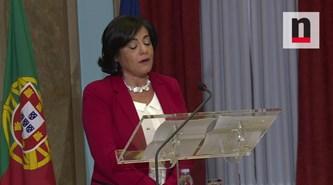 Gabriela Figueiredo Dias pede recursos adequados, Centeno promete autonomia
