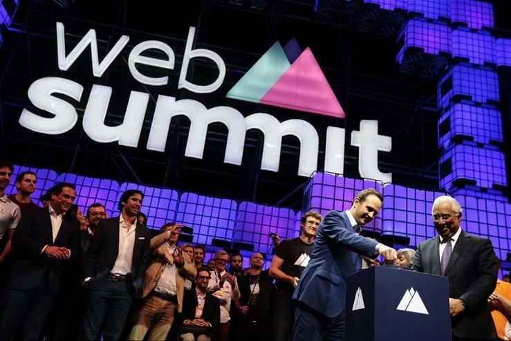As imagens do primeiro dia do Web Summit