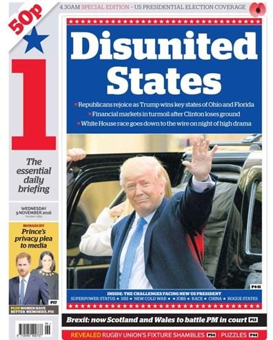 Como os jornais do mundo noticiam a vitória de Trump