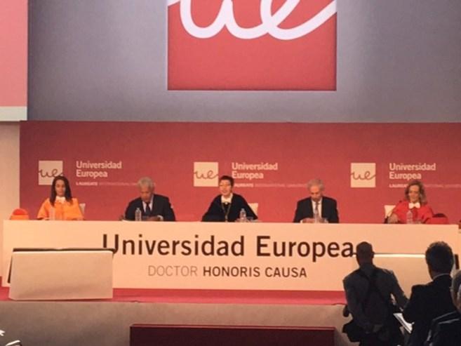 "Universidade Europeia atribui ""honoris causa"" a Guterres"