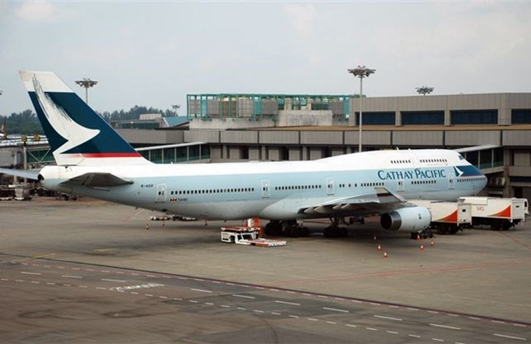 8º Cathay Pacific Airways