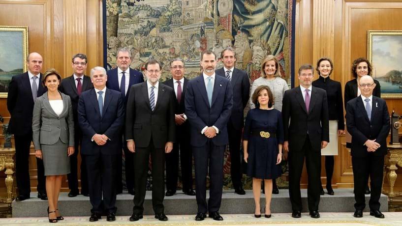Governo espanhol já tomou posse