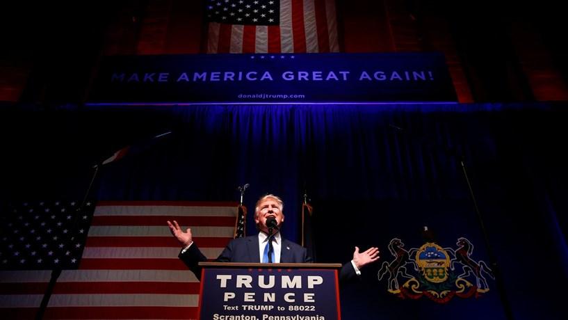Trump fecha campanha com promessa de dar prioridade aos Estados Unidos