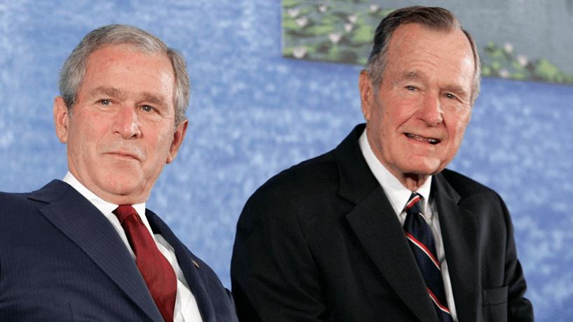 George H. W. Bush hospitalizado
