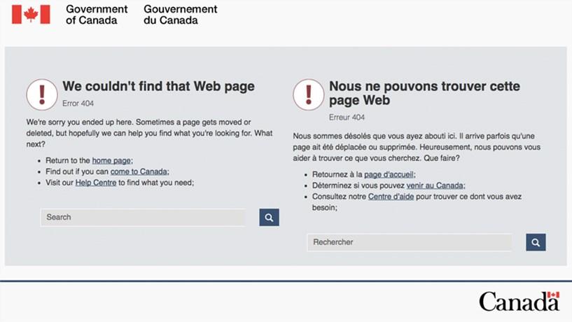 Website de imigração do Canadá já foi abaixo várias vezes