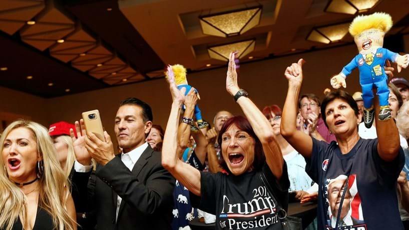Noite eleitoral: Trump eleito Presidente dos Estados Unidos
