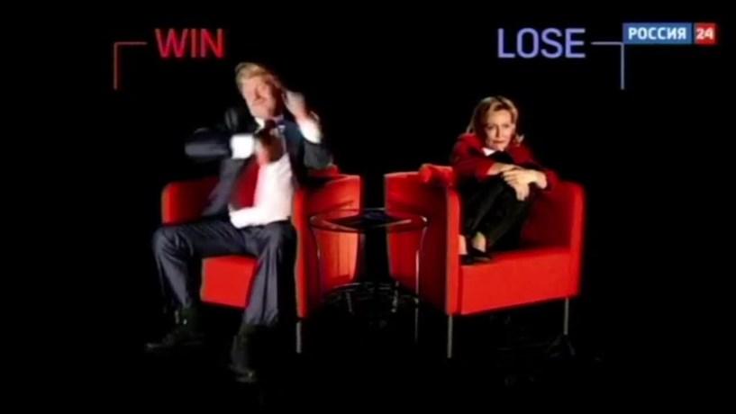 Televisão russa faz comédia com vitória de Trump