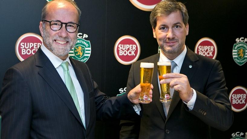 Sporting garante patrocínio da Super Bock por mais uma época
