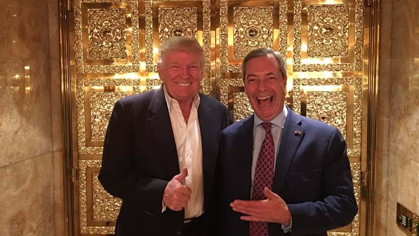 Nigel Farage estaria na mira do FBI por caso 'Trump-Rússia'