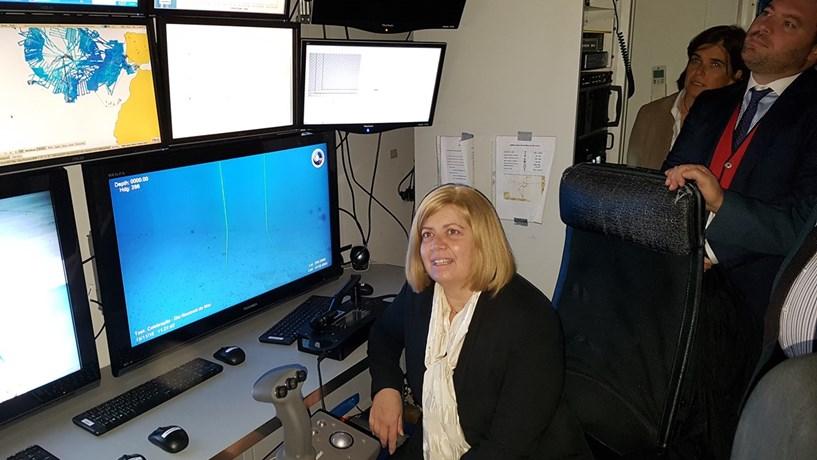 Ministra do Mar renova missão da extensão da plataforma continental