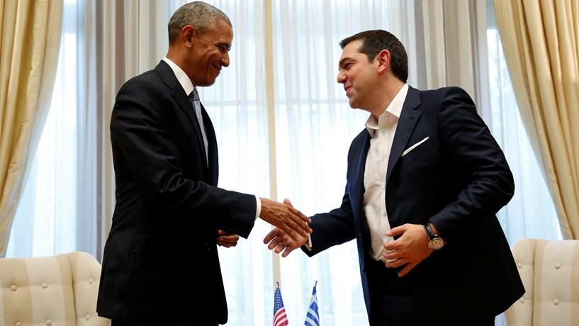 Obama pede uma solução duradoura para a dívida pública grega