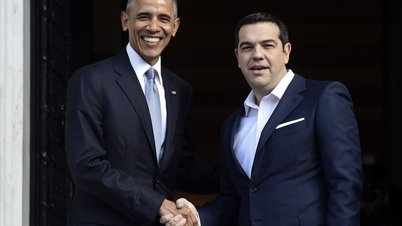 """Obama reforça em Atenas importância """"absolutamente vital"""" da NATO"""