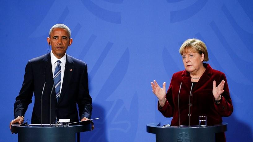 Obama avisa em Berlim que a democracia não pode ser tida como garantida