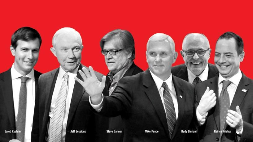 Homens danados de Trump
