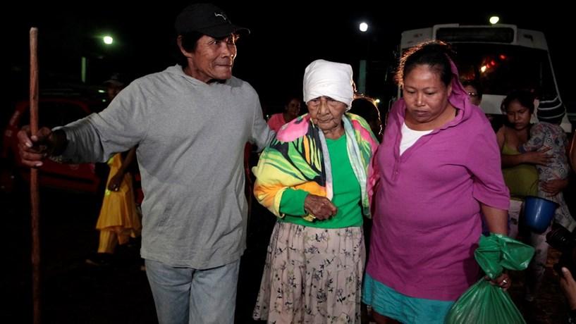 Nicarágua decreta estado de emergência perante furacão, sismo e alerta de tsunami