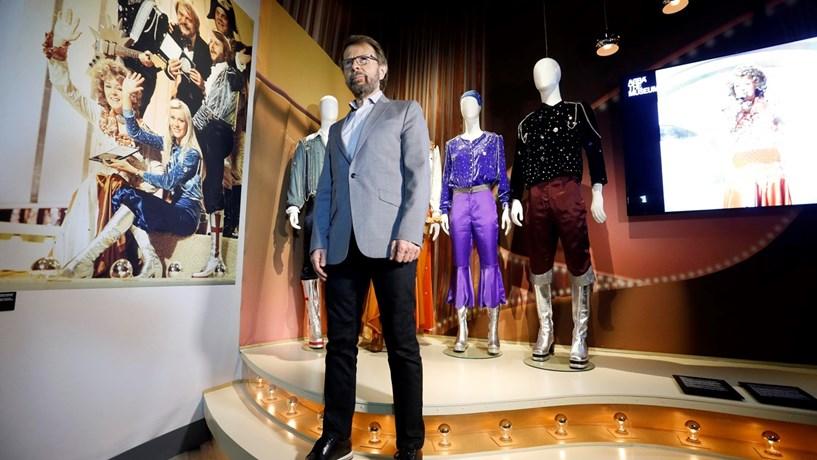 """No Museu dos Abba, em Estocolmo, não se aceita dinheiro. Björn Ulvaeus, membro da banda sueca, é um defensor da """"cashless society""""."""