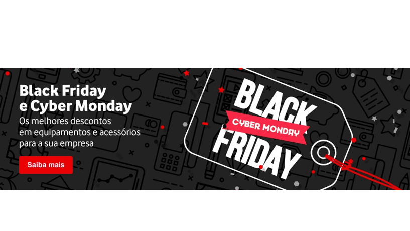 Get ready: Black Friday e Cyber Monday na Vodafone