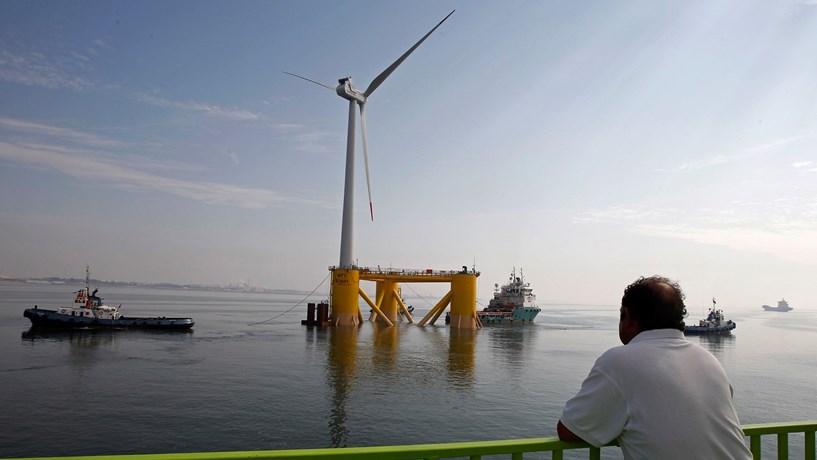 Eólica flutuante de Viana já pode produzir energia