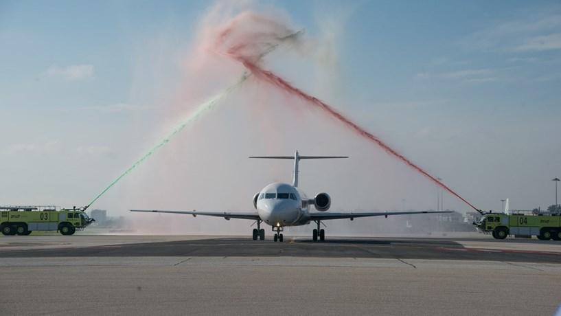 Primeiro avião da Portugália despediu-se dos céus ao fim de 26 anos
