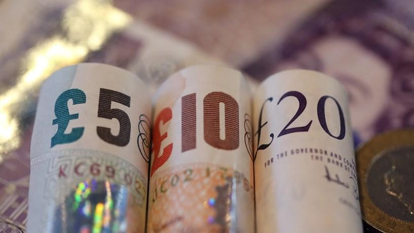 Vegans britânicos contra nova nota de cinco libras