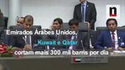 Negócios explica acordo para cortar produção de petróleo