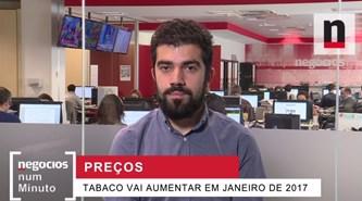 Negócios explica aumento de preços no tabaco