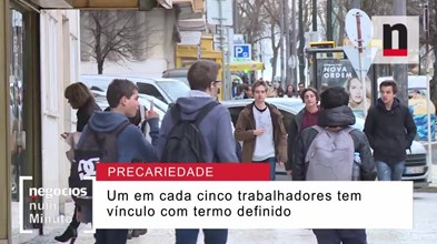 Como compara Portugal ao nível de trabalhadores precários?