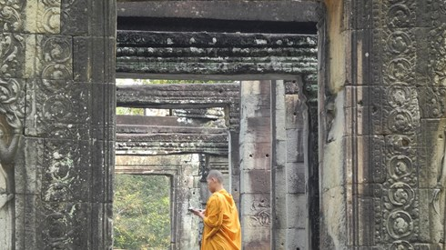 Angkor Wat: Há que ter tempo para apreciar tanta história