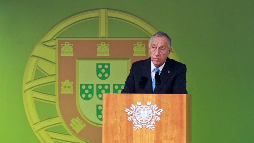 """Marcelo diz que feriado do 1.º de Dezembro """"nunca deveria ter sido suspenso"""""""