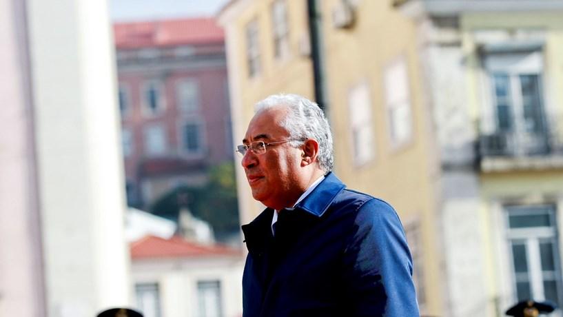 """Costa """"muito confiante"""" na queda dos juros de Portugal"""