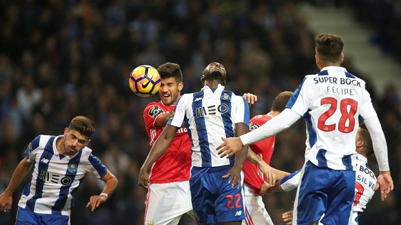 Benfica e Porto entram em campo a lutar por 12 milhões de euros