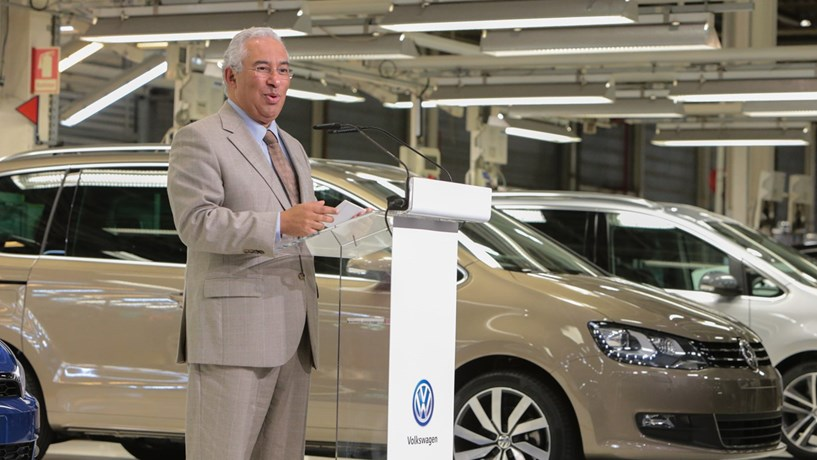 "António Costa: ""A Autoeuropa é uma empresa querida de Portugal e Portugal continua a ser querido para a Volkswagen"""