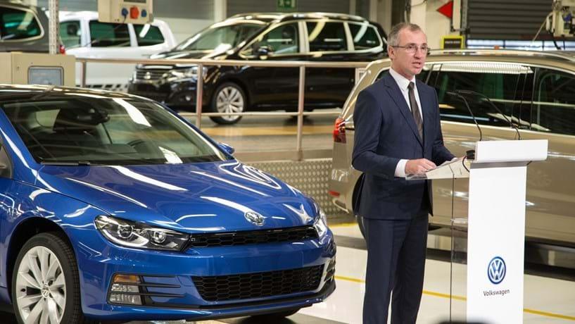 "Miguel Sanches: ""A Autoeuropa é uma fábrica especial no mundo Volkswagen"""