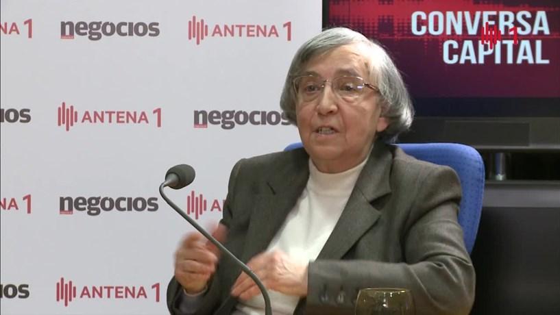 "Teodora Cardoso: Será ""extremamente difícil"" o país aguentar juros de 5%"