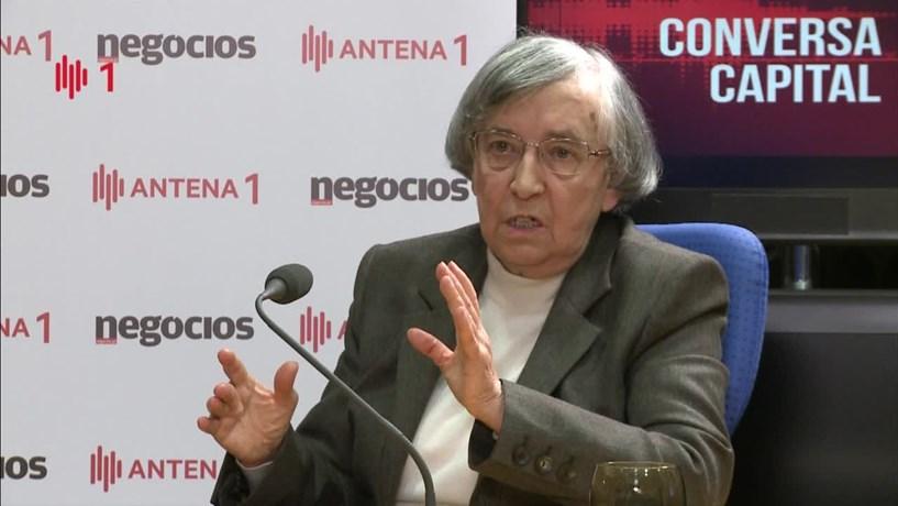 """Teodora Cardoso: """"Não vai ser fácil chegar a um défice de 2%"""" em 2017"""
