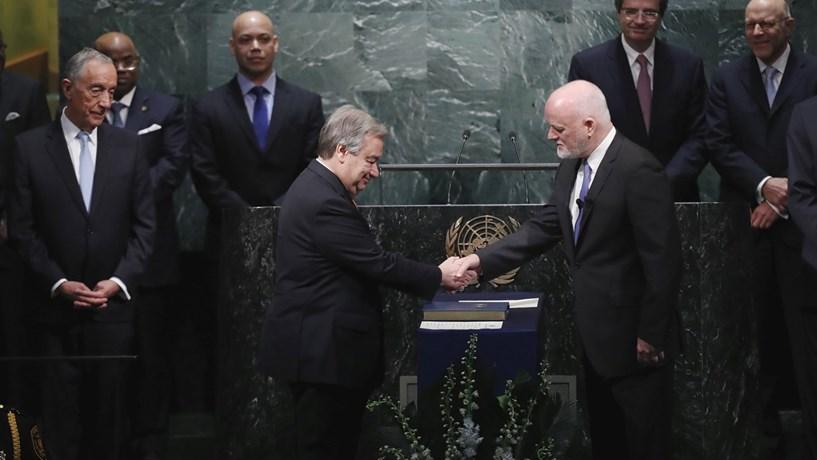 """António Guterres: """"As Nações Unidas têm de mudar"""""""
