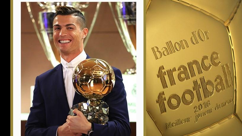 Cristiano Ronaldo conquista Bola de Ouro